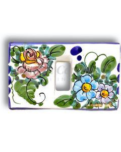 Coprinterruttore Magic in ceramica di Vietri