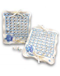 Calendario in ceramica Vietrese MARE MAGNUM