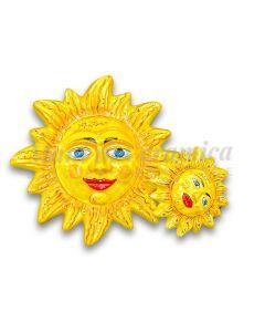 Sole in ceramica di Vietri