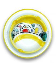 Posacenere braciere in ceramica di Vietri