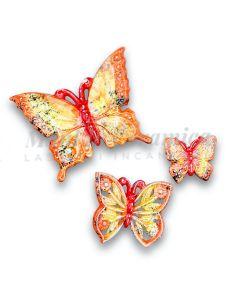 Farfalla in ceramica di Vietri
