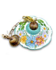 Lampadario in ceramica vietrese DECORO VIETRI ANTICO