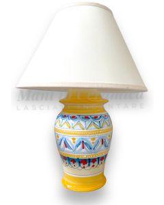 Lume Classico in ceramica vietrese DECORO GEOMETRICO RAVELLO NEW