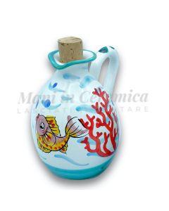 Oliera a goccia in ceramica di Vietri