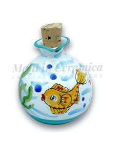 Oliera a palla in ceramica di Vietri