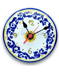 Orologio d'appoggio in ceramica di Vietri