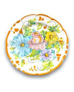 Piatto in ceramica di Vietri Antico