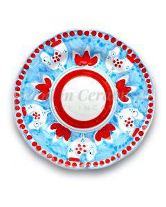 Piatto in ceramica di Vietri Pulcino