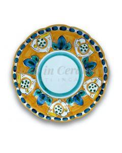 Piatto in ceramica di Vietri Pulcino New