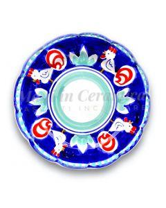 Piatto in ceramica di Vietri Gallo
