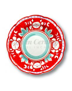 Piatto in ceramica di Vietri Granchio