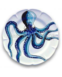 Piatto in ceramica di Vietri Mare Magnum