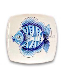 Piatto sushi in ceramica di Vietri Linea Mare