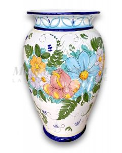 Porta ombrelli svasato in ceramica di Vietri