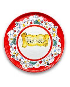 Piatto Pizza in ceramica di Vietri