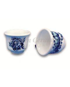 Tazzina caffè in ceramica di Vietri Mare
