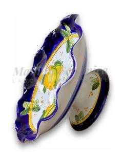 Alzatina in ceramica di Vietri