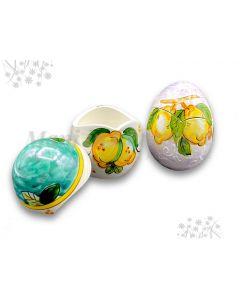 Uovo di Pasqua in ceramica di Vietri
